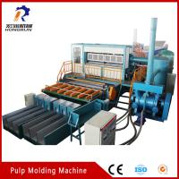Quality Recycling Waste Paper Egg Tray  Machine , Pulp Egg Tray Making Machine for sale