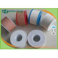 First Aid Plaster Tape With Zinc Oxide Hot Melt Adhesive For Strong Fixation Manufactures