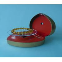 Advertising Solar Display Stand Jewelry Protection With Red Cover Manufactures