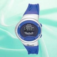 Ladies' 5.5 Digits Plastic Watch with LCD Screen