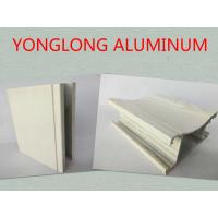 Customized Rectangle Wood Finish Aluminium Profile For Door Corrosion Resistance Manufactures