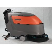 Dycon Automatic Compact Floor Scrubber Machine Single Brush Multiple Water Injectors Manufactures