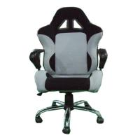 Customized Fully Adjustable Office Chair With Bucket Seat PU Material 150kgs Manufactures