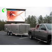 China Digital P10 360 Degree LED Display Mobile On LED Truck And Trailers 4x3 10x8 Feet 3535 SMD on sale