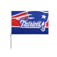 China The New England Patriots Fans Large Logo Flag Size 100 x 150CM  3D National Logo on sale