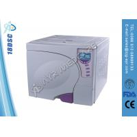 Dental 3 Times Pulsating Vacuum Autoclave Steam Sterilizer With LED Display Manufactures