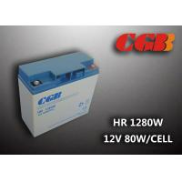 Non Spillable Valve Regulated Lead Acid Rechargeable Battery 12v 18ah UPS EPS Power Supply Manufactures