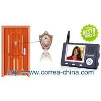 Home Security Wireless Peephole Viewer Video Doorphone Intercom with 3.5 inch TFT Manufactures
