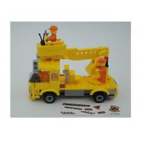 Popular Building And Construction Toys Robot Truck 3 Deformation Yellow Color Manufactures
