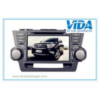 China Toyota Two DIN 8'' Car DVD Player with gps/TV/BT/RDS/IR/AUX/IPOD special for Highlander on sale