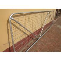 Powder Coated Heavy Duty Gate N Stay 12' (3600mm) 2.3mm wall thick - Mesh Metal Farm Gates Manufactures