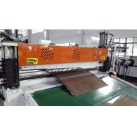 China Three Layers  PC ABS Co-Extrusion Luggage Sheet Extrusion Machine on sale