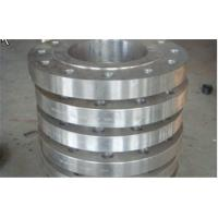 Hydraulic Industrial Forged Steel Flanges ASTM A234 / Carbon Steel Plate Flanges Wall Thickness 40 - 800 mm Manufactures