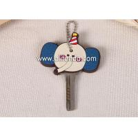 Chinese manufacturer custom fashionable soft PVC silicon car key cover Manufactures