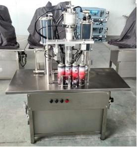 QGB-900C Semi-automatic Aerosol Filling Machine Manufactures
