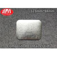 Paper / Aluminium Foil Container Lid 60-120 Micron Thickness FDA Certificated Manufactures
