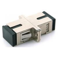 China Multimode Sc Fiber Adapter , Sc Simplex Adapter With Metal Housing on sale