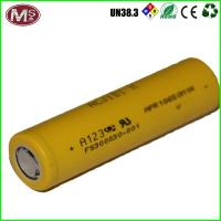 Lifepo4 Lithium Ion Battery Cells 10ah 3.2v , 18650 Rechargeable Li Ion Battery Manufactures