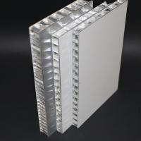 China 20mm Thickness Aluminum Honeycomb Panel , 10mm Metal Core Sandwich Curtain Wall on sale