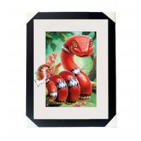 In Stock Amazing 5D 30*40CM Lenticular Picture With PS Frame For Wall Art Home Decor Manufactures