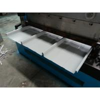China Hydraulic Kliplock roll forming machine 0.3-0.8mm Thickness 25 Stations for sale