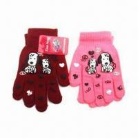 100% Cotton Gloves, Available in Customized Designs, Suitable for Children Manufactures