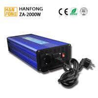 2000w off grid solar pure sine wave inverter high frequency with charger battery off grid solar panel inverters hanfong Manufactures