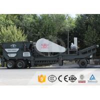Energy - Efficient Mobile Stone Crusher Plant For Ore Grinding Machine Manufactures