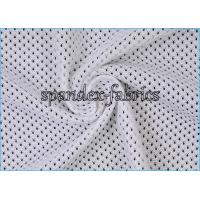 Quality Eyelet Warp Polyester Mesh Knit Lining Fabric 1.6m*100gsm in Red Blue for sale