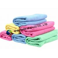 Hand Drying Microfiber Household Cleaning Cloth for Cleaning , Ultra-strong Absorbency Manufactures
