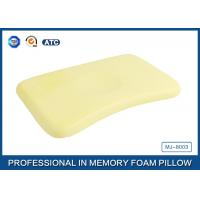 Memory Foam Baby Neck Pillow / Infant Pillow with Cotton Velvet Cover Manufactures