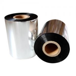 black 25*450 near edge wax resin customzied TTR Ribbon/Thermal transfer ribbon for barcode label printing, zebra,tsc Manufactures