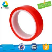 waterproof fashion double sided PVC film tape with glassine paper