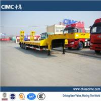tri-axle step deck low bed trailer Manufactures