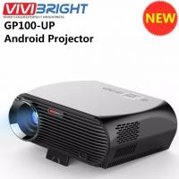 Newest ViviBright GP100UP Smart Home Theater Projector Android6.01 3500 Lumens High Brightness LED WiFi Beamer 1280*800p Manufactures