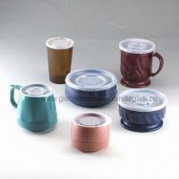 Disposable Lids for Bottle, Made of PS Material, Ideal Packaging for Food Service in Hospital Manufactures