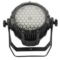 DMX Stage Lighting 54pcs 3W RGB LED Par Light With Die Cast Aluminum Housing Manufactures