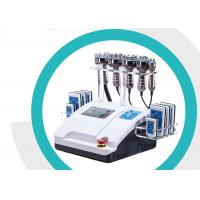 Rf Cavitation Lipo Laser Slimming Machine Smooth Fatigue With 8 Inch Touch Screen Manufactures