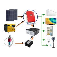 Emergency Backup Power Off Grid Solar And Wind Kits ISO9001 Certification Manufactures