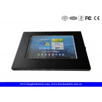 Android 10.1 Tablet Secure Ipad Enclosure VESA Mounting Holes For Wall Mounting Manufactures
