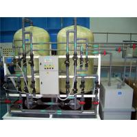 Different Capacities Water Softener Plant For Industrial Use Simple Installation Manufactures