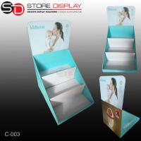 Corrugated countertop displays box with three tiers Manufactures