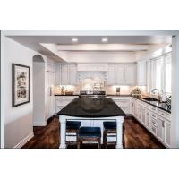American type solid wood kitchen cabinet Manufactures