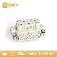 HA-016-F 16A 250V 60pin female industrial multipole connector similar ILME heavy duty conn Manufactures