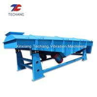 China Cement Linear Vibrating Screen Low Noise With Large Processing Capacity on sale