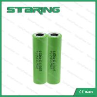 Fast shipping High drain rechargeable  LGAHA1  18650 1300MAH battery  for e cigarette batteries Manufactures