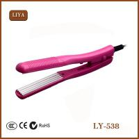 China Ionic Ceramic Flat Iron Fast Heat Design Gorgeous Hair Straightener on sale