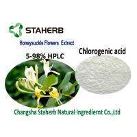 Organic Natural Cosmetic Ingredients , Honeysuckle Flower Extract Chlorogenic Acid 5-98% CAS 327 97 9 Manufactures