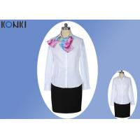 Casual V Neck Shirt Corporate Office Uniform For Men And Women Manufactures