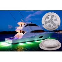 China 9 * 3W Bridgelux 3 in1 LED Boat Light , Blutooth Control 27W LED Marine Lights on sale